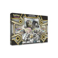 POKEMON MELMETAL-GX BOX |2 Foil Cards plus 1 Oversize Foil Card | 4 XY Series Booster Packs