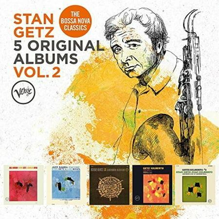 5 Original Albums, Vol. 2 by Stan Getz (CD)