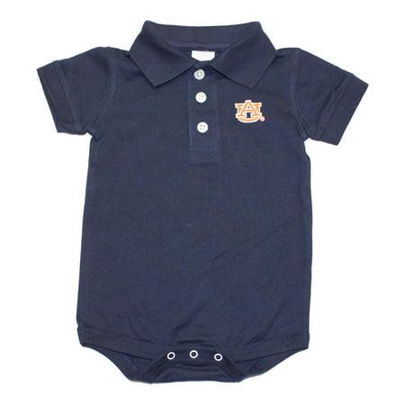 NCAA Licensed Auburn Tigers INFANT Golf Shirt Romper Onesie for $<!---->