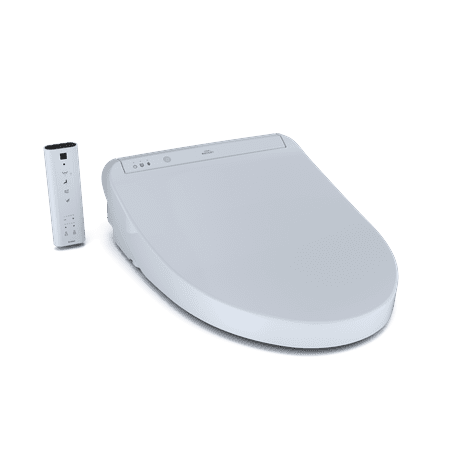 TOTO® K300 WASHLET® Elongated Bidet Toilet Seat with Instantaneous Water Heating with Premist™ and SoftClose® Lid, Cotton White - SW3036#01