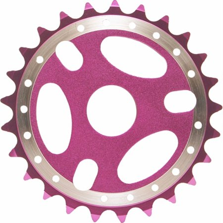 Purple Bicycle 25 T Sprockets Replacement Part Bmx Bike 23.8 Mm Metric