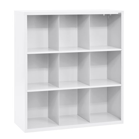 Cubby 46 in  x 52 in  White 9-Cube Organizer