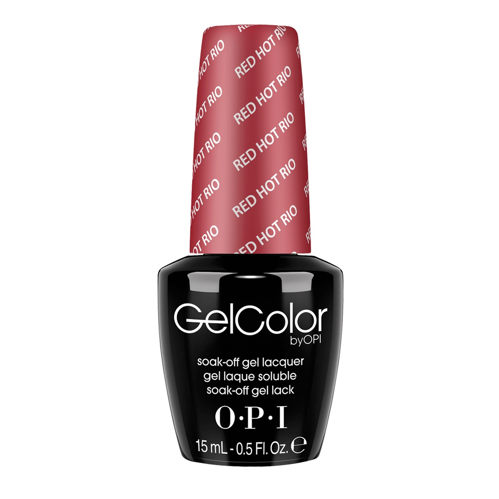 OPI GelColor, Red Hot Rio
