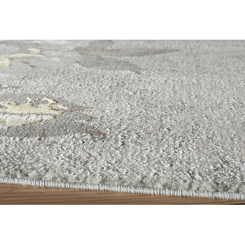 "Momeni Luxe 7'10"" X 9'10"" Rug in Gray"