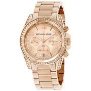 Michael Kors Women's Blair Chronograph Glitz Watch