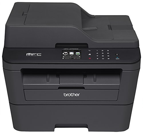 Brother Mfc-l2720dw Laser Multifunction Printer - Monochrome - Plain Paper Print - Desktop - Copier/fax/printer/scanner - 30 Ppm Mono Print - 2400 X 600 Dpi Print - Touchscreen Lcd - (mfcl2720dw)