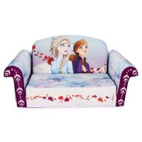 Marshmallow Furniture, Children's 2-in-1 Flip Open Foam Sofa, Frozen 2, by Spin Master
