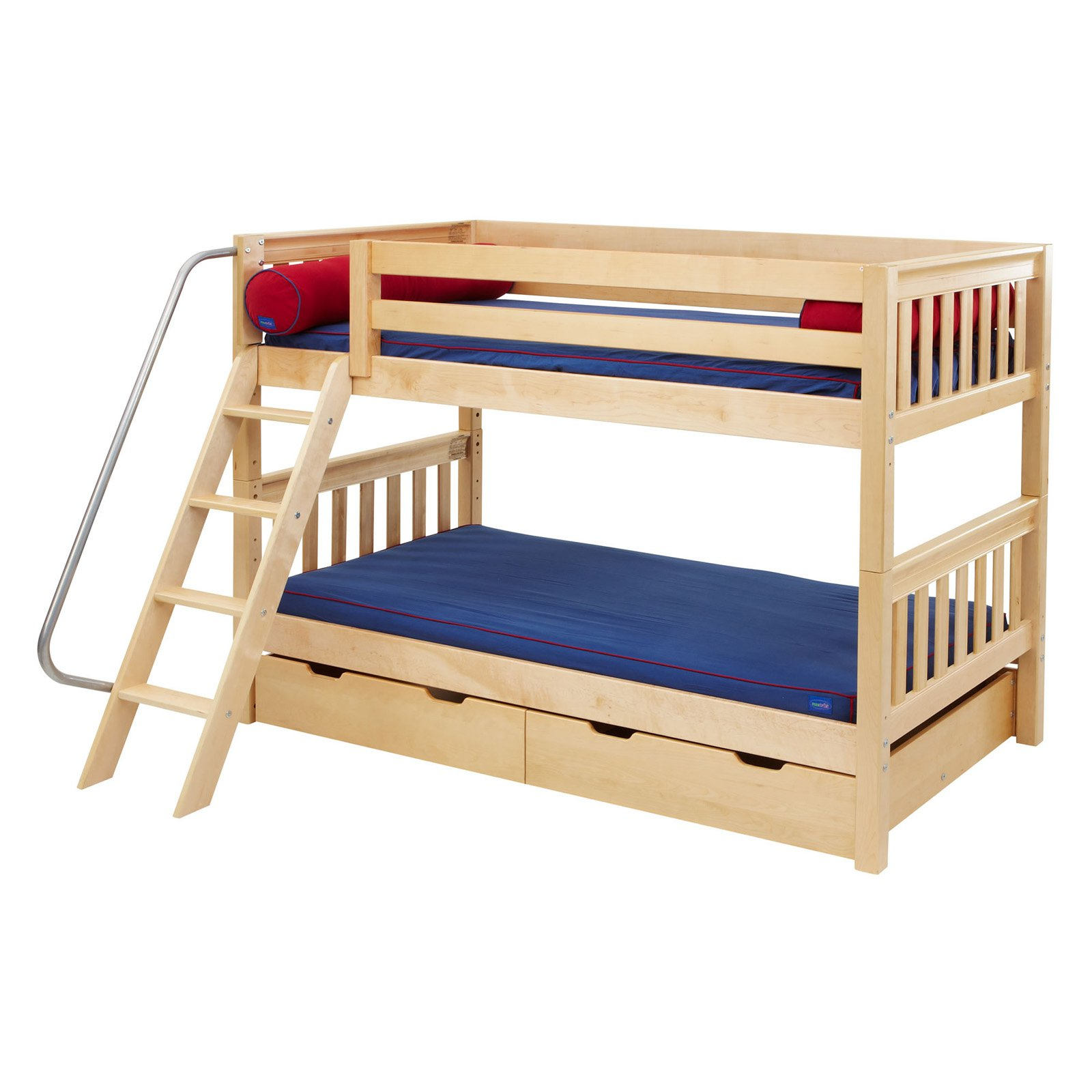 Hot Hot Twin Over Twin Bunk Bed