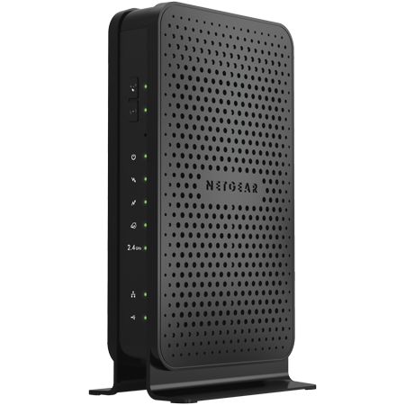 Usb Phone Modem - NETGEAR N300 (8x4) WiFi Cable Modem Router Combo. DOCSIS 3.0 | Certified for Xfinity by Comcast, Spectrum, COX & more (C3000)