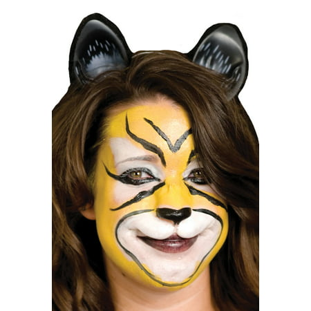 Woochie Large Cat Face Halloween Accessory - Halloween Cat Face Paint Tutorial