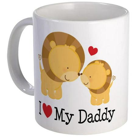 CafePress - I Heart My Daddy Mug - Unique Coffee Mug, Coffee Cup CafePress