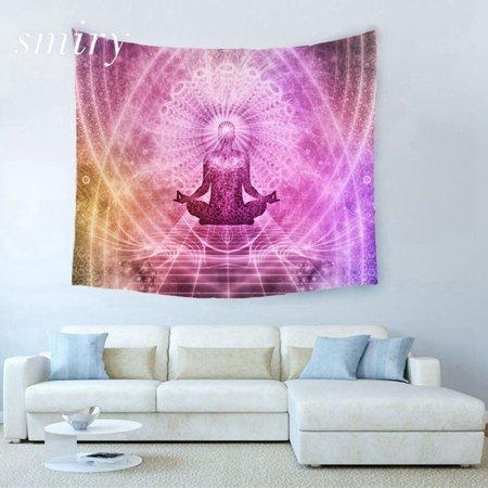 Mandala Theme Yoga Meditation Decor Tapestry Hanging Dorm Bedroom Living Room