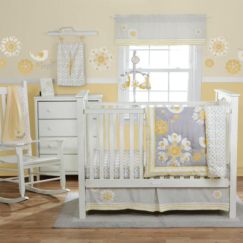 MiGi Sweet Sunshine Collection 3-Piece Crib Bedding Set