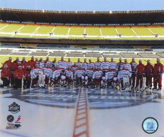 The Washington Capitals Team Photo 2011 NHL Winter Classic Sports Photo by Photofile