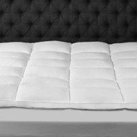 Dreamy Nights Cotton Fiberbed Mattress Topper in Multiple Sizes