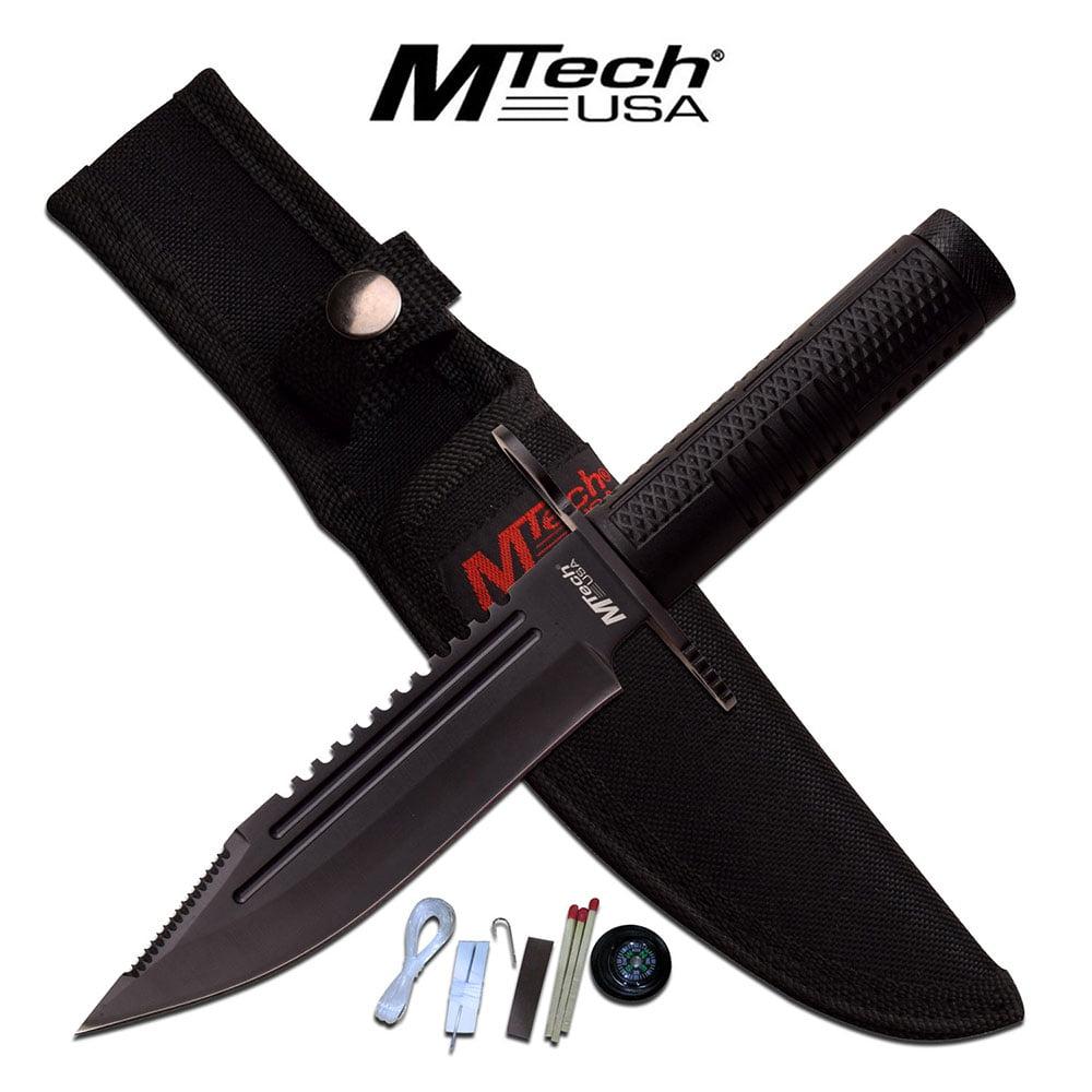 Survival Knife Black