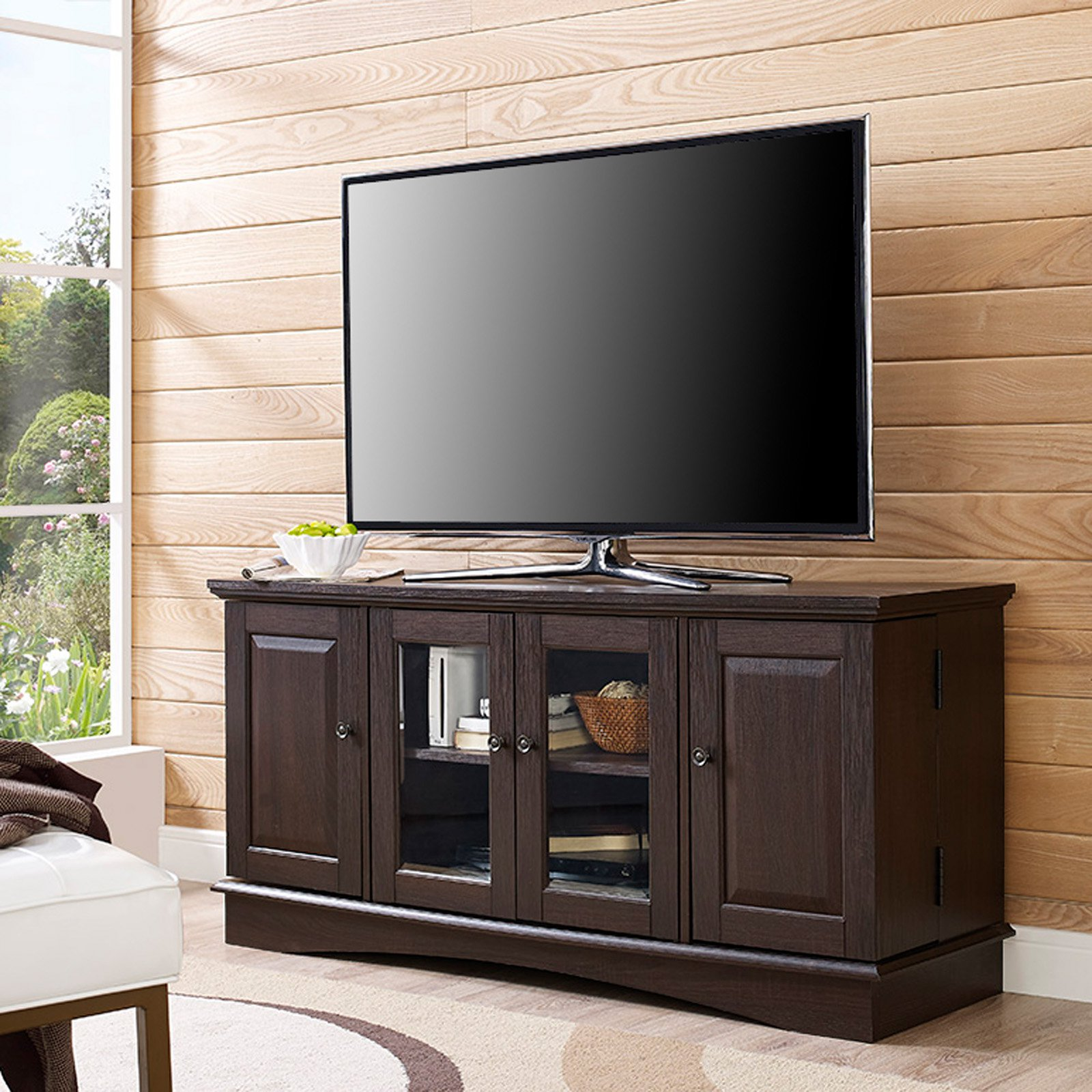TV Media Stand Storage Console