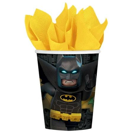 Lego Batman Paper 9oz Cups (8 Count)
