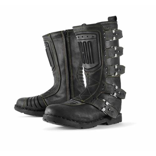 Icon 1000 Elsinore Womens Boots Johnny Black