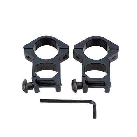 2pcs Tactical Rail Mount 25.4mm Ring for Rifle Scope Flashlight Torch