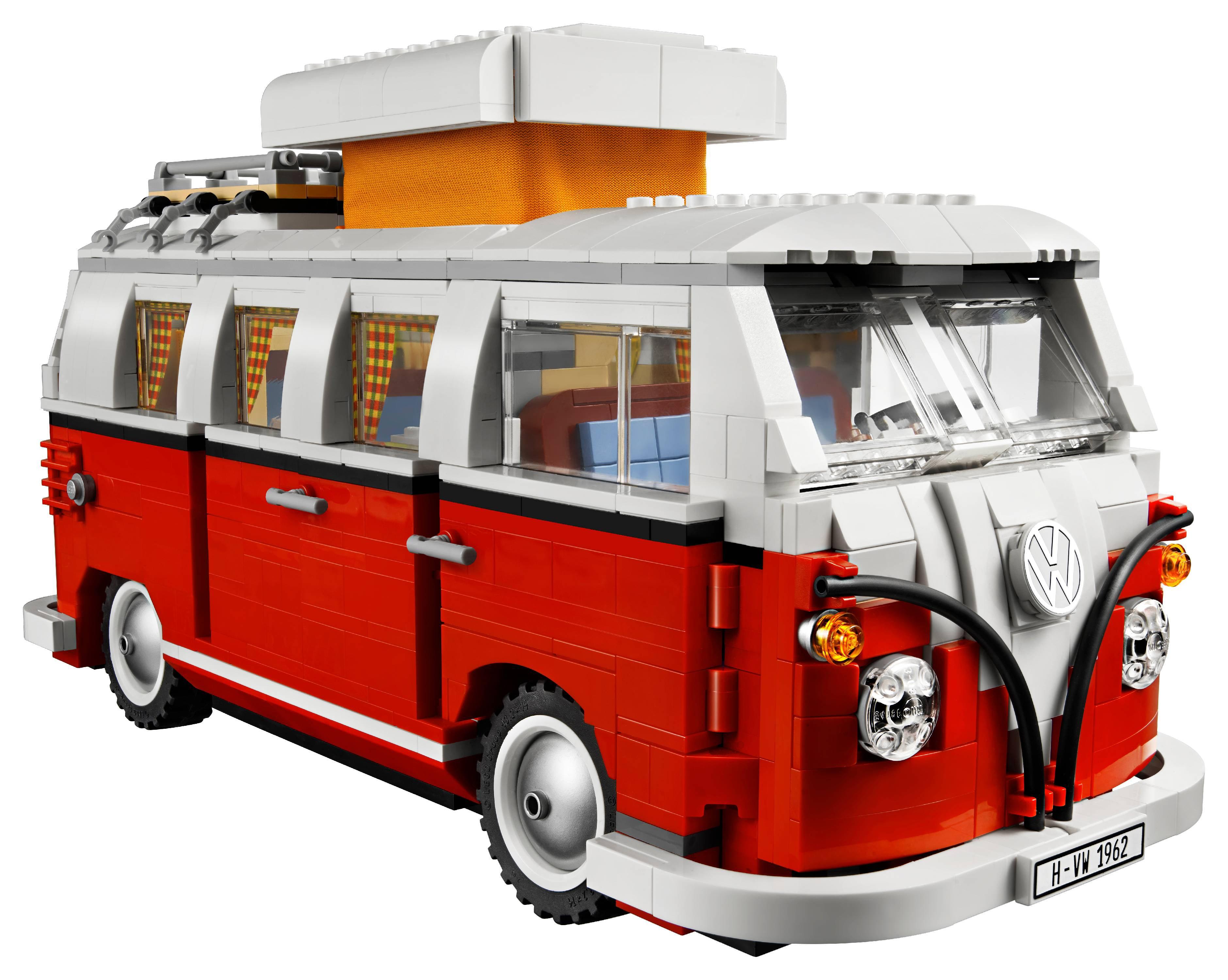LEGO Creator Expert Volkswagen T1 Camper Van 10220 - Walmart com