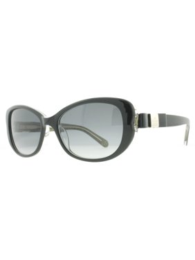 0780696e8a8cd Product Image Kate Spade Chandra S 0X84 Y7 Black Glitter Women s Butterfly  Sunglasses