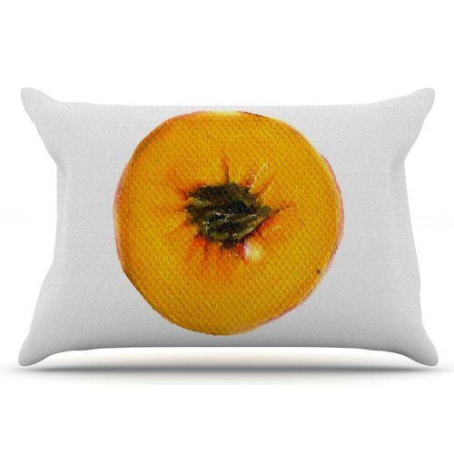 East Urban Home Peach by Theresa Giolzetti Pillow Sham