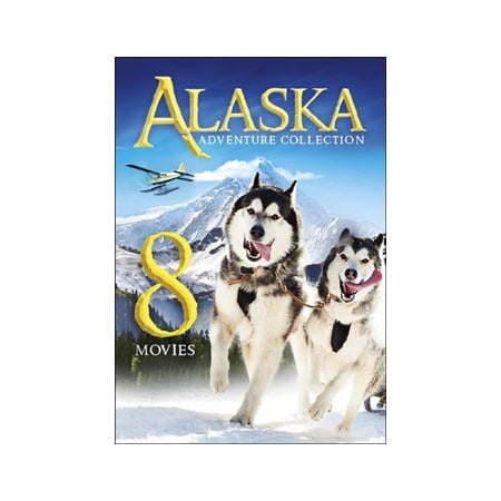 8-MOVIE ALASKA ADVENTURE COLLECTION (DVD) (2 DVD SLIMLINE) NLA! -