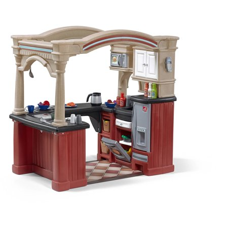 Step2 Grand Walk-In Kitchen Includes a 103-piece Accessory Set ...