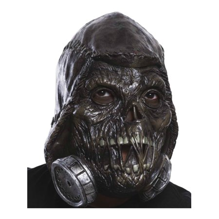 Batman Scarecrow Mask (Adult's Mens Batman DC Comics Scarecrow Latex Mask Costume)
