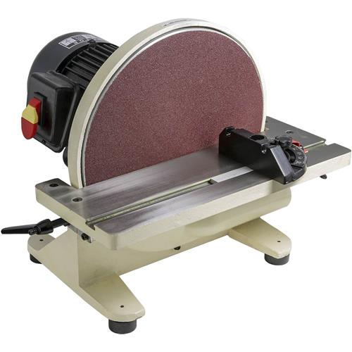 "Shop Fox W1828 12"" Disc Sander w  1Hp 1,700 Rpm Fan Cooled Direct Drive Motor by Woodstock International"