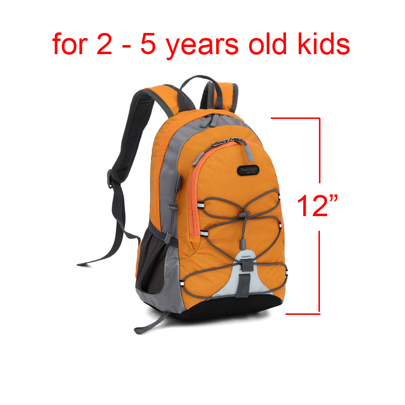 "Zimtown 12"" Toddlers Waterproof Mini Backpack, 10L Lightweight Kids Preschool Rucksack, for 0-5 Years Girls Boys Outdoor Sports"