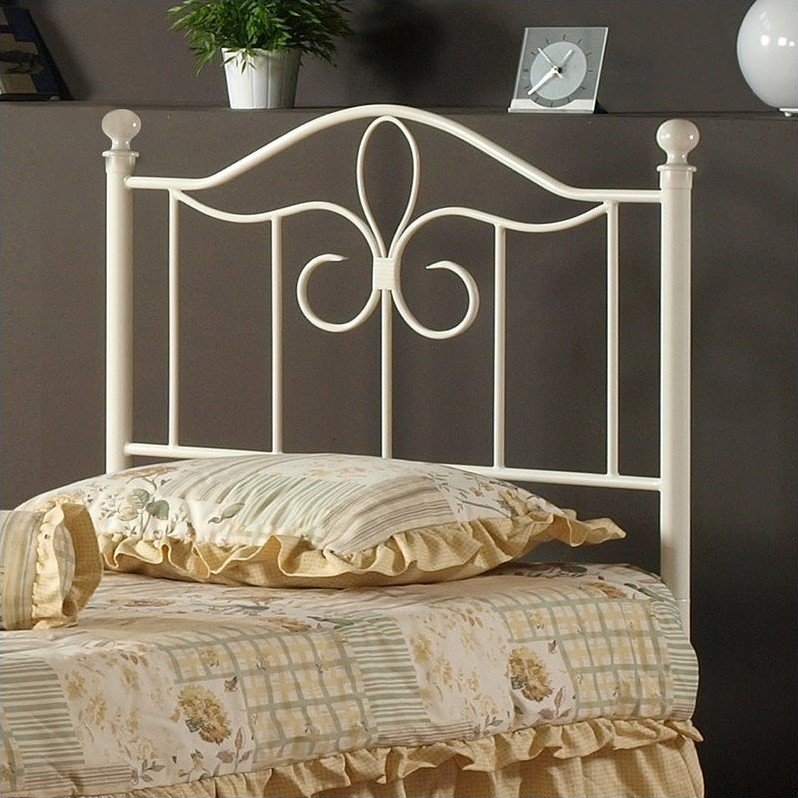 Hillsdale Westfield Spindle Headboard in Off-White-Full