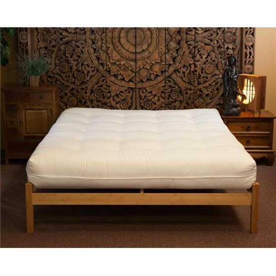 Naturally Sleeping Cco 11 Ck California King Size Organic Luxury With Wool Futon Mattress