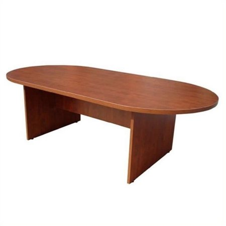 Boss Office Products Racetrack Conference Table-Cherry