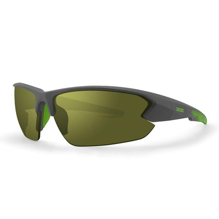 ca23624f520 New Epoch Eyewear 4 Ultra Sporty Gray Lime Frame Golf Sunglasses -  Walmart.com