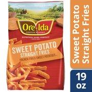 Ore-Ida Straight Cut Sweet Potato Fries, 19 oz Bag