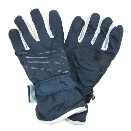 CTM®  Kids' Waterproof Two Tone Ski Gloves