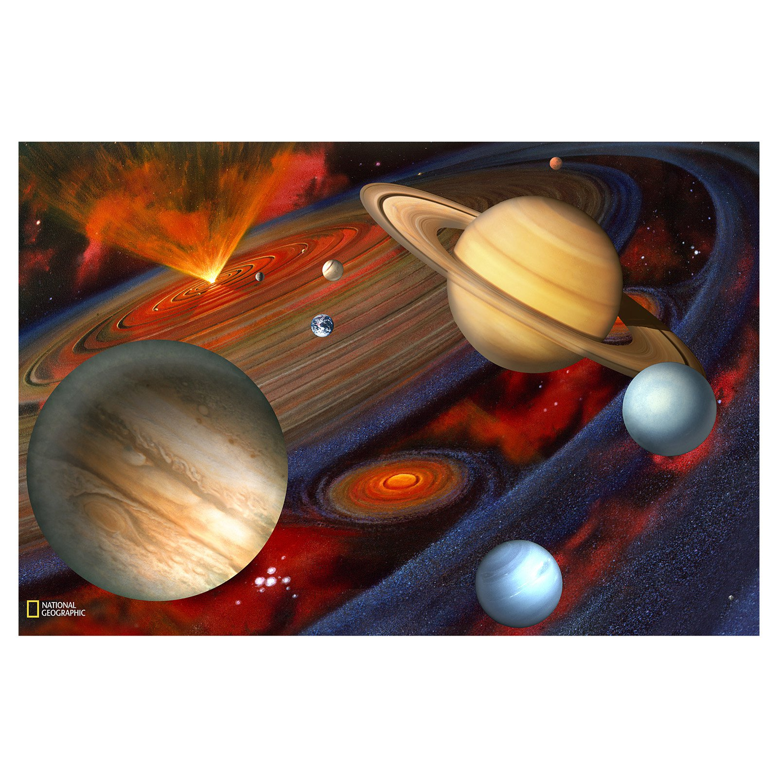 Brewster Planets Wall Mural Walmartcom