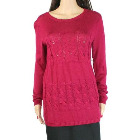Lafayette Women's Sweater Scoop Nevk Knit Cashmere
