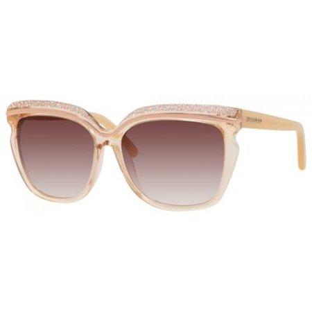 d81eb896d6b67 JIMMY CHOO - JIMMY CHOO Sunglasses SOPHIA S 0DLN Nude 58MM - Walmart.com