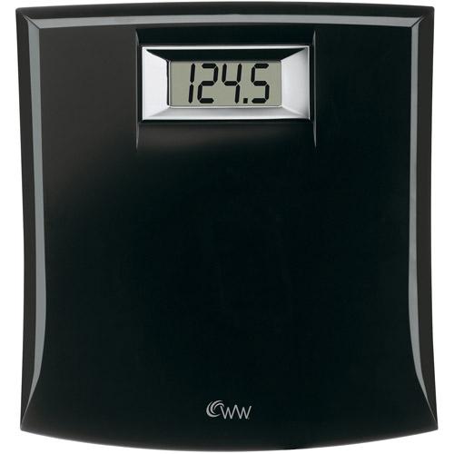 Weight Watchers Black Digital Bath Scale