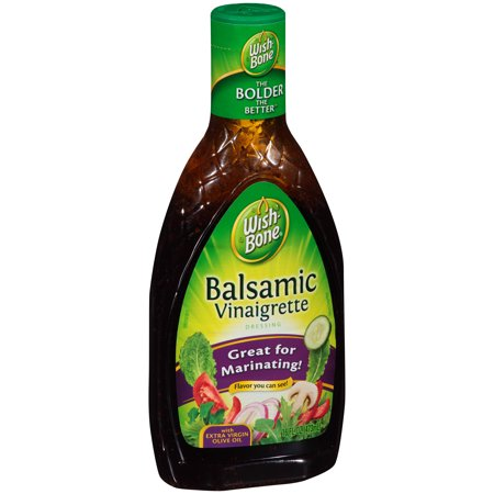Wish-Bone® Balsamic Vinaigrette Dressing 16 fl. oz. Bottle - Walmart ...