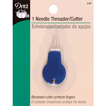 Dritz Needle Threader with Thread Cutter