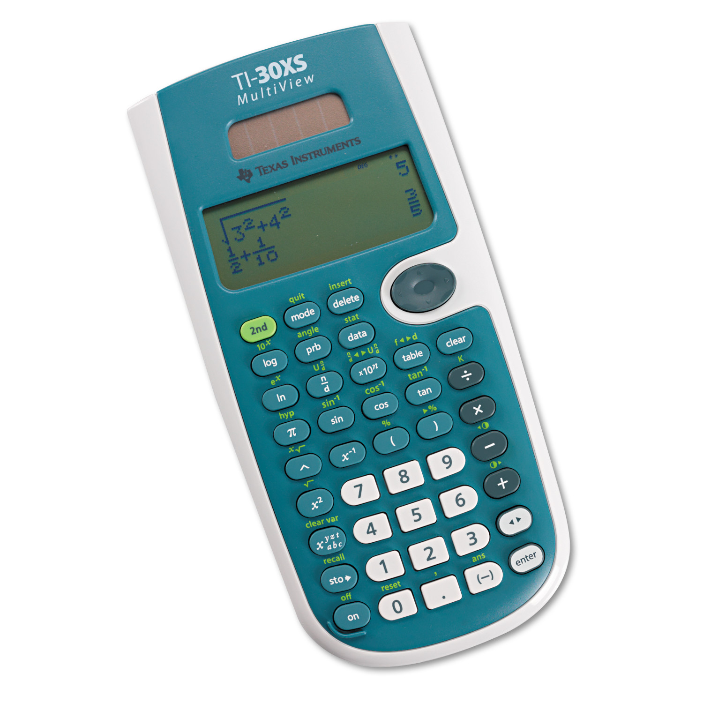 texas instruments ti 30xs multiview scientific calculator 16