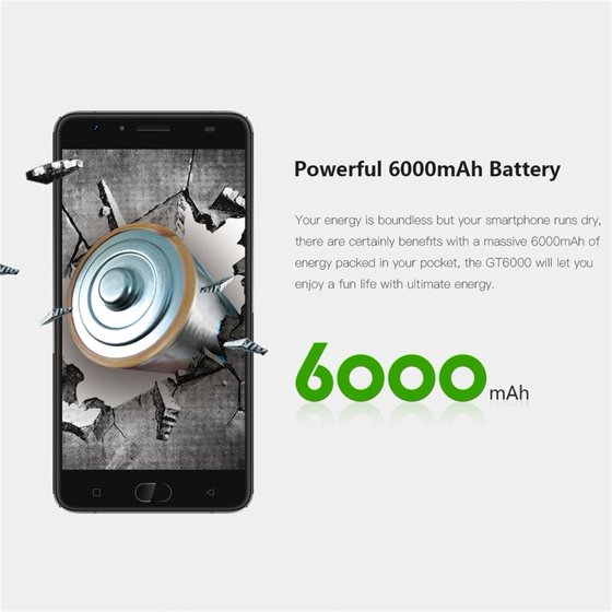 Gretel Gt6000 4g Smartphone 55 Display Built In 6000mah Battery Uk
