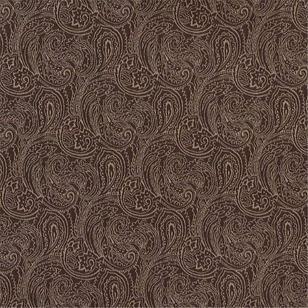Designer Fabrics B630 54 inch Wide Brown, Traditional Paisley Jacquard Woven Upholstery Fabric