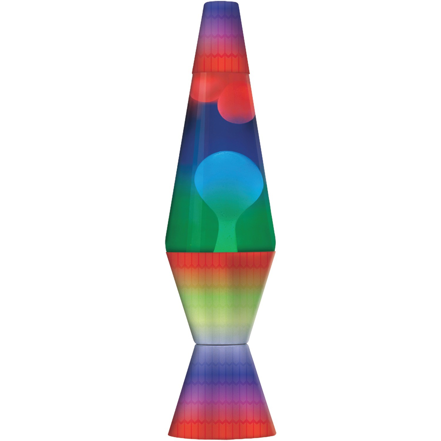Click here to buy Lava the Original 14.5-Inch Colormax Lamp with Rainbow Decal Base by Lava.