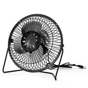 WALFRONT USB Solar Panel Powered Mini Portable Fan for Cooling Ventilation Home Travelling Fishing, Mini Portable Fan, Solar Powered Fan