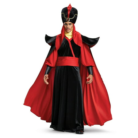 DISNEY ALADDIN ADULT JAFAR DELUXE - Aladdin Costumes For Men